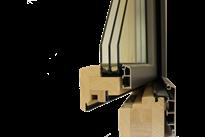 Holzalufenster 3-fach Verglasung
