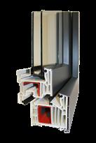 Kunststoffalufenster 2-fach Verglasung