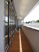 Verwendung von Holzfenstern